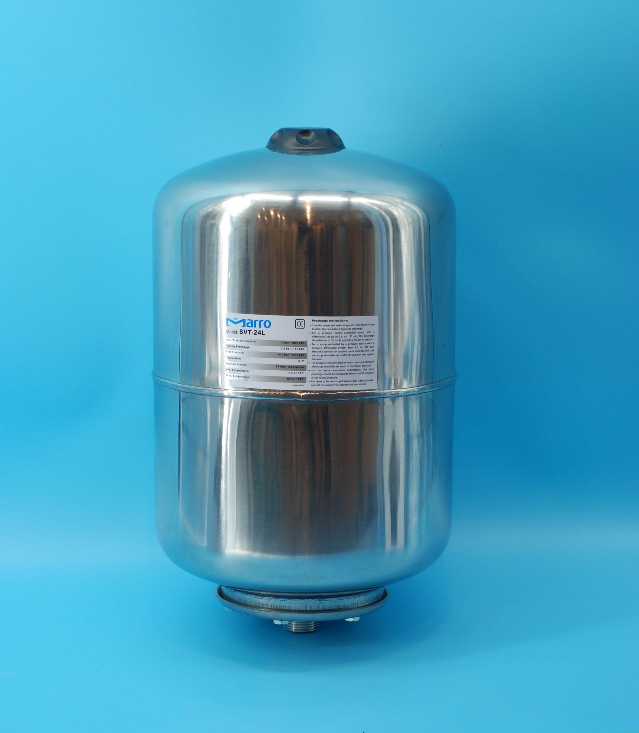 Marro Stainless Steel Pressure Water Tank 24L   eBay